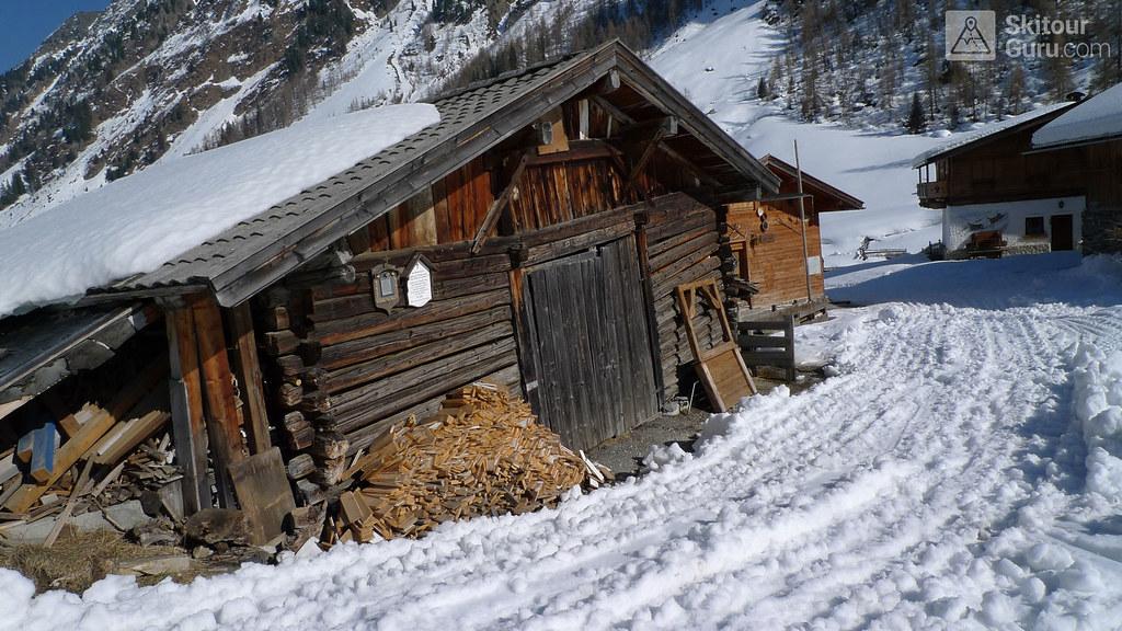 Franz Senn Hütte Stubaiské Alpy Österreich foto 13