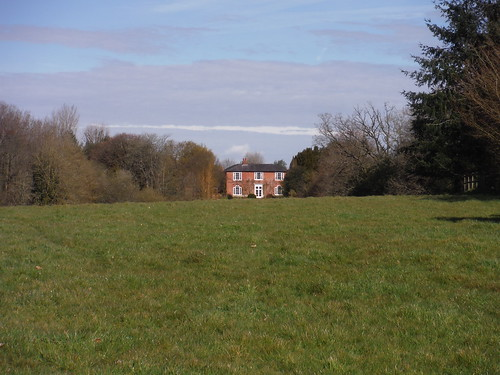House in Beenham, north of route