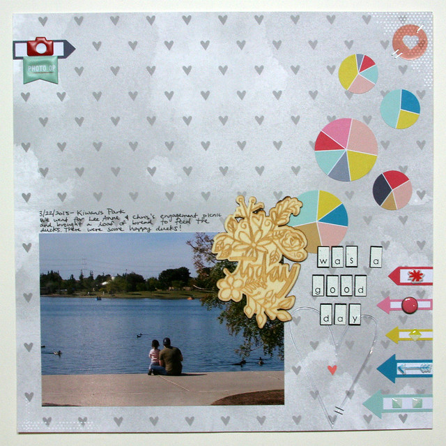 Today Was a Good Day Layout | shirley shirley bo birley Blog