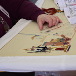 Stitching the Battle of Stamford Bridge Tapestry, by Richard Winskill