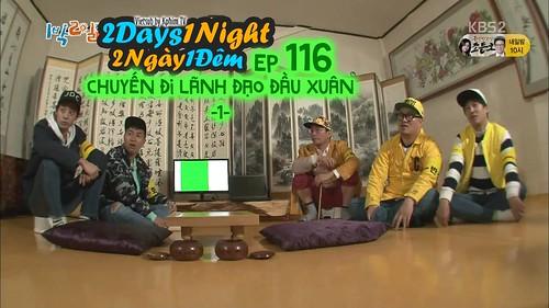[Vietsub] 2 Days 1 Night Season 3 Tập 116