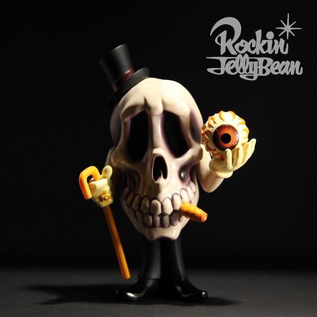 "Rockin'Jelly Bean 怪物立體計畫""瘋狂怪物村"" 第一彈:Mr.DEATH 彩色版正式公開!"