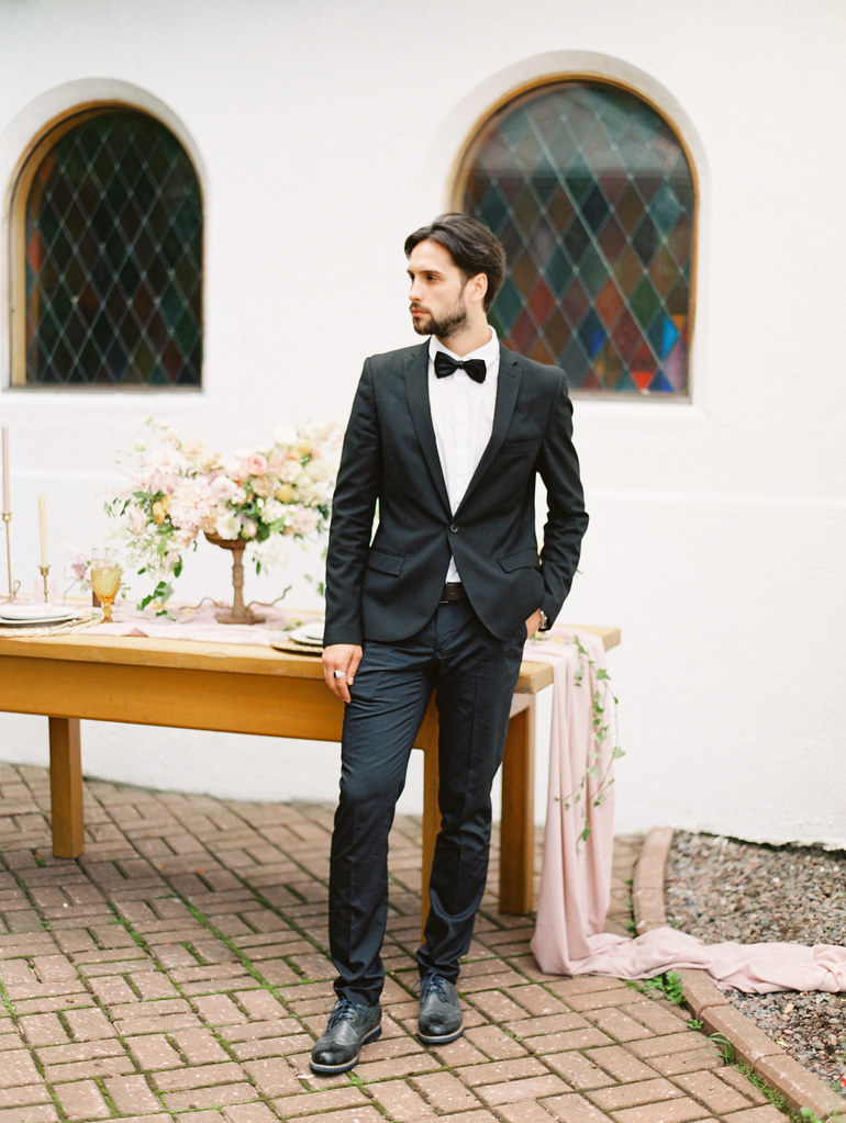 Groom in Tuxedo| photo by Elena Pavlova | Fab Mood - UK wedding blog #weddinginspiration