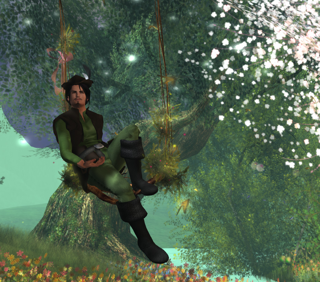 Robin-Hood-Relaxing-in-the-Forest-of-Dreams