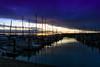 big sky over the wharf