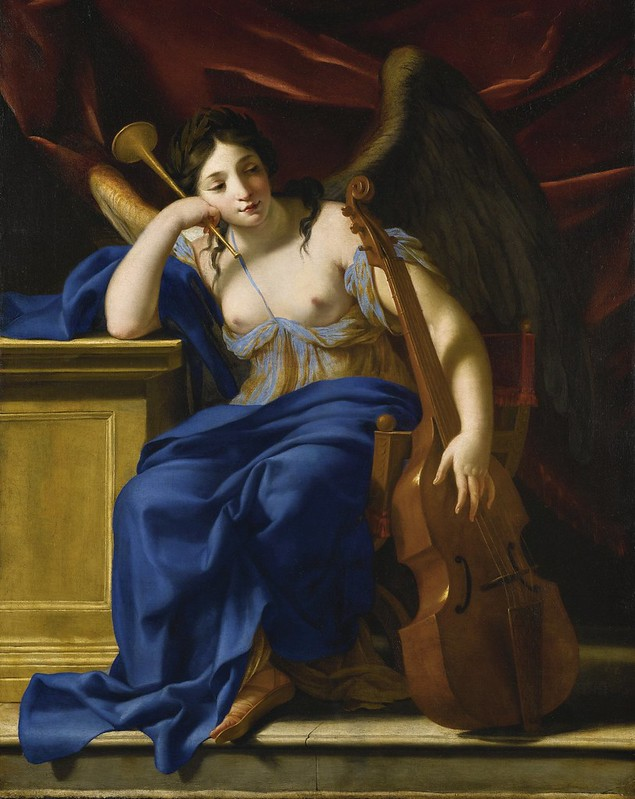 Eustache Le Sueur - An allegory of Poetry