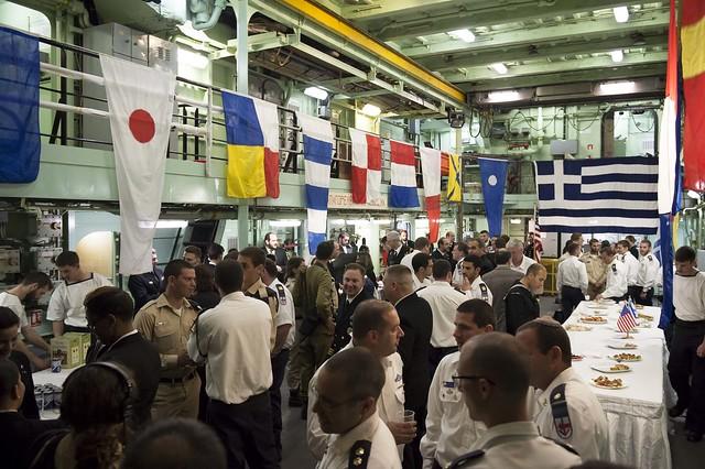 USS Porter, DDG 78, 6th Fleet, Destroyer, Haifa, Israel.