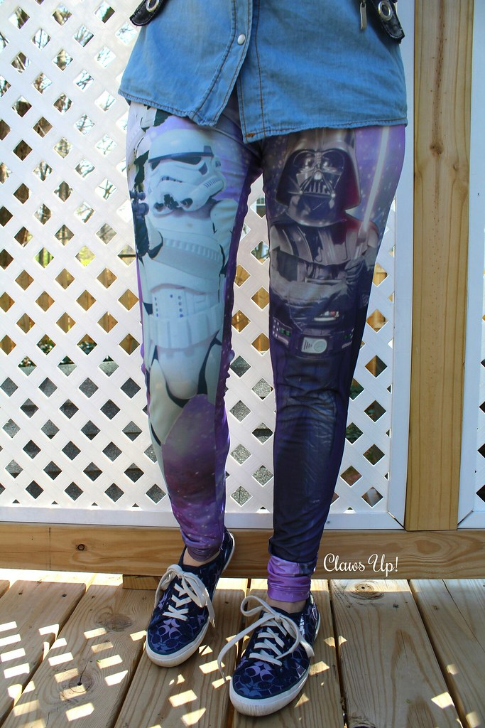Stat Wars leggings for May the 4th