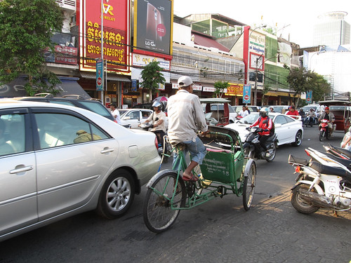 Phnom Penh et sa circulation