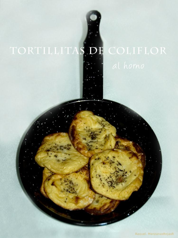 Tortillitas de coliflor. ManzanasRojasR