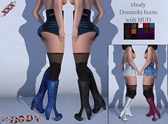 xbody Dominiki boots with HUD