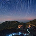 Star Trail at Yinna Hill by Starry Night Imaging