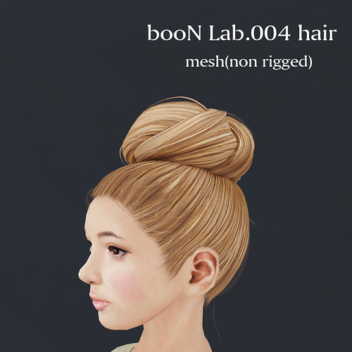 booN Lab004 hair