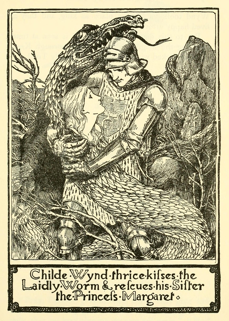 "John D Batten - illustration from ""English Fairy Tales,"" 1902"