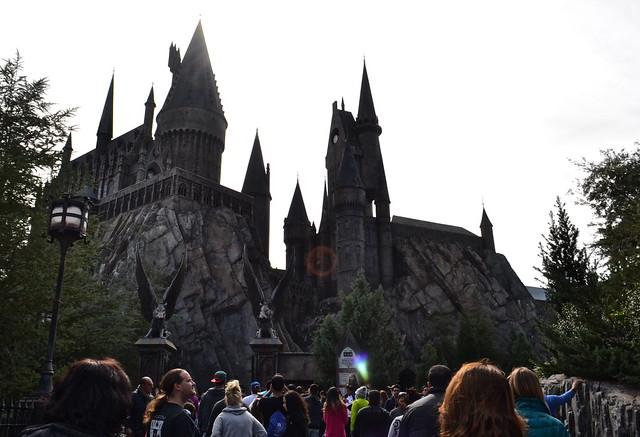 hogwarts - Universal Studios in Florida