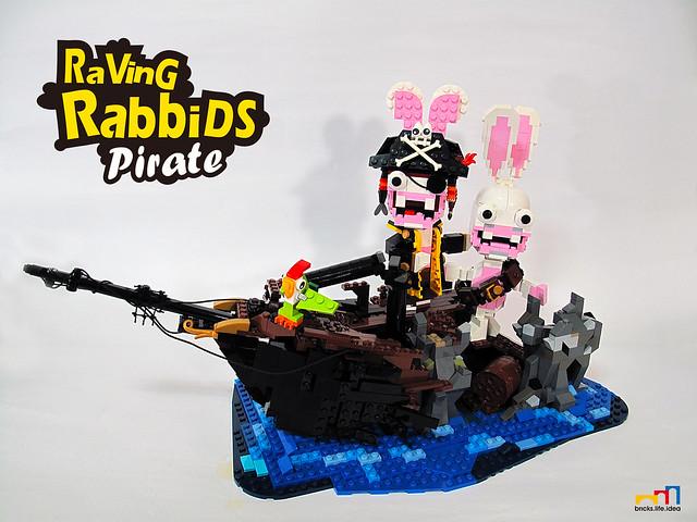 Raving Rabbids pirate