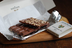 Omnom's Sea Salted Almonds and Milk Chocolate
