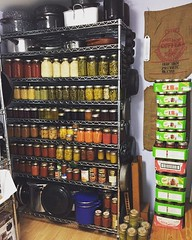 My pantry is ready for the 2016 Blizzard...no grocery store runs needed!
