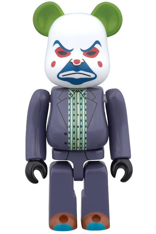100% & 400% 同步登場!BE@RBRICK 小丑 搶匪ver.