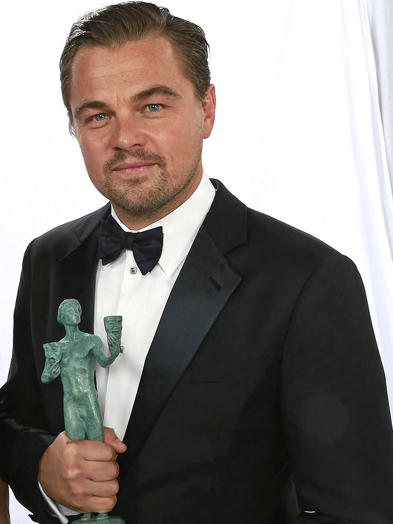 Леонардо Ди Каприо — Фотосессия на «SAG Awards» 2016 – 1