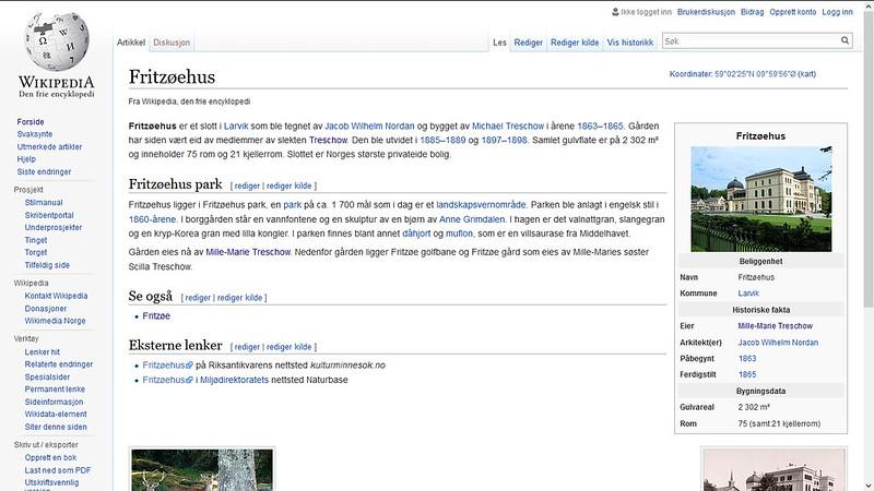 fritzøehus wiki