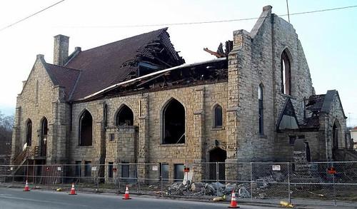 Demolition of St. Agatha's Church Building
