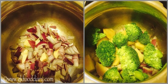Broccoli Soup Recipe for Toddlers and Kids - step 2