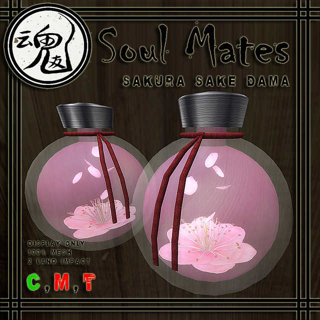 [Soul Mates] Sakura Sake Dama Ad
