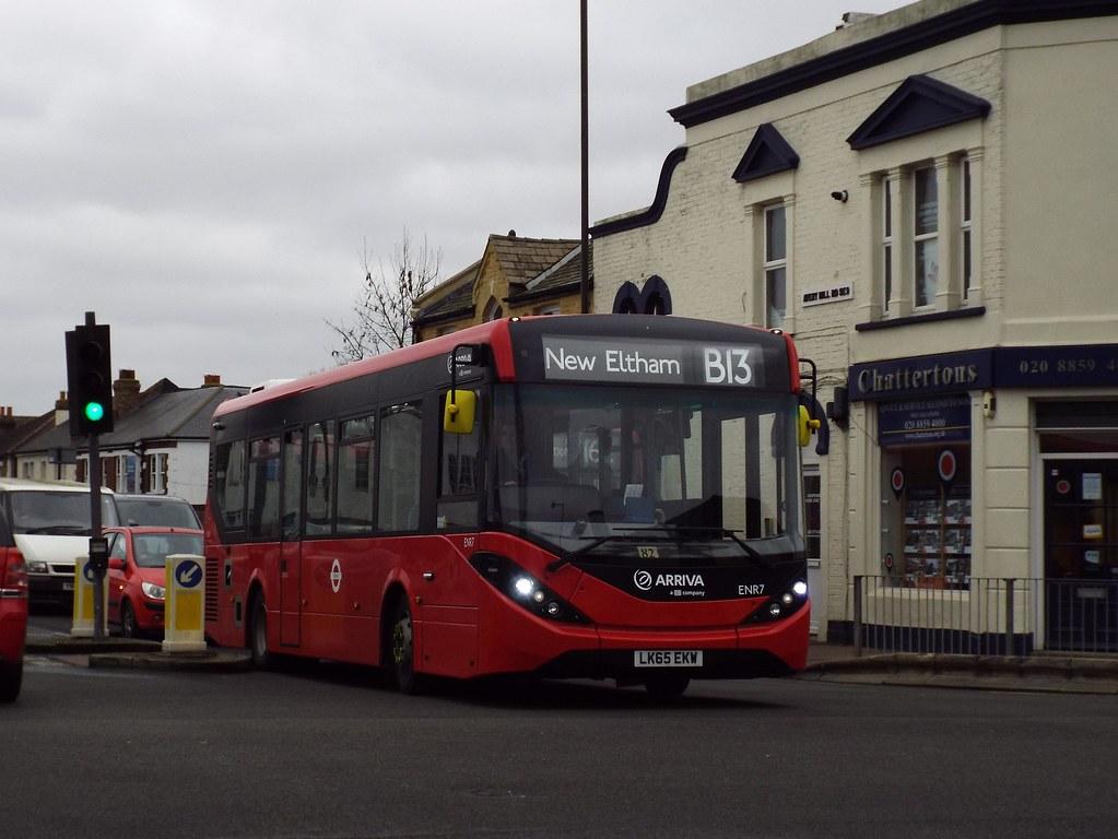 Brand new - Arriva Kent Thameside ENR7, LK65EKW in New Eltham on route B13