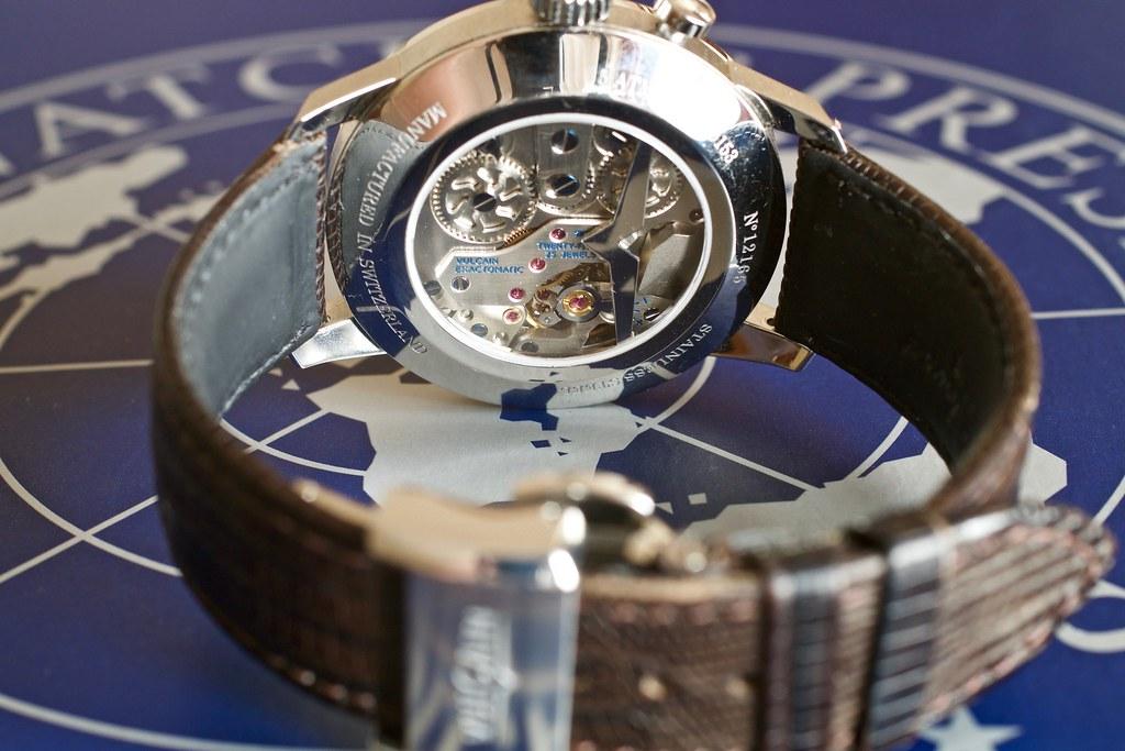 vulcain - [Revue] Vulcain 50s President' watch cricket 39mm ref : 100153.295L 24959892363_5213053bb6_b