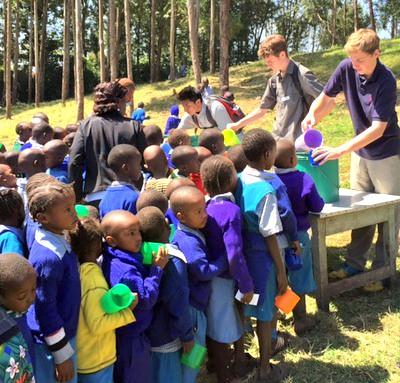 Youth on Kenya trip