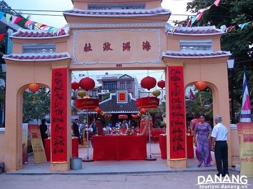 The Hai Chau Communal House