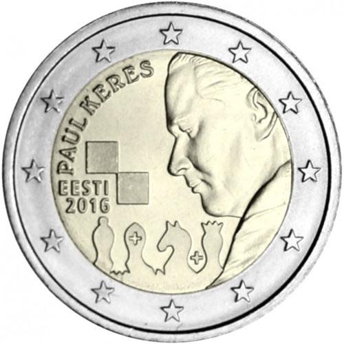 2 Euro Estónsko 2016, Paul Keres