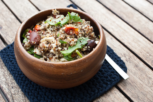 Roasted Tomato & Quinoa Salad