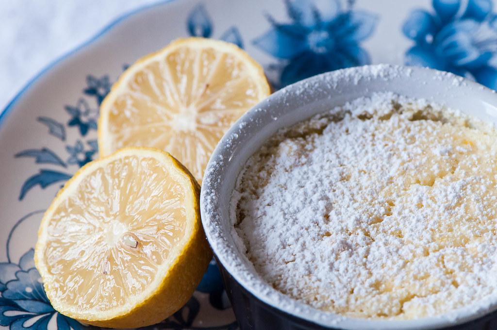 Individual Irish Lemon Pudding 8