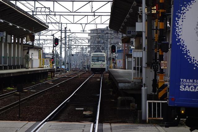 2016/03 叡山電車×ご注文はうさぎですか?? ヘッドマーク車両 #52