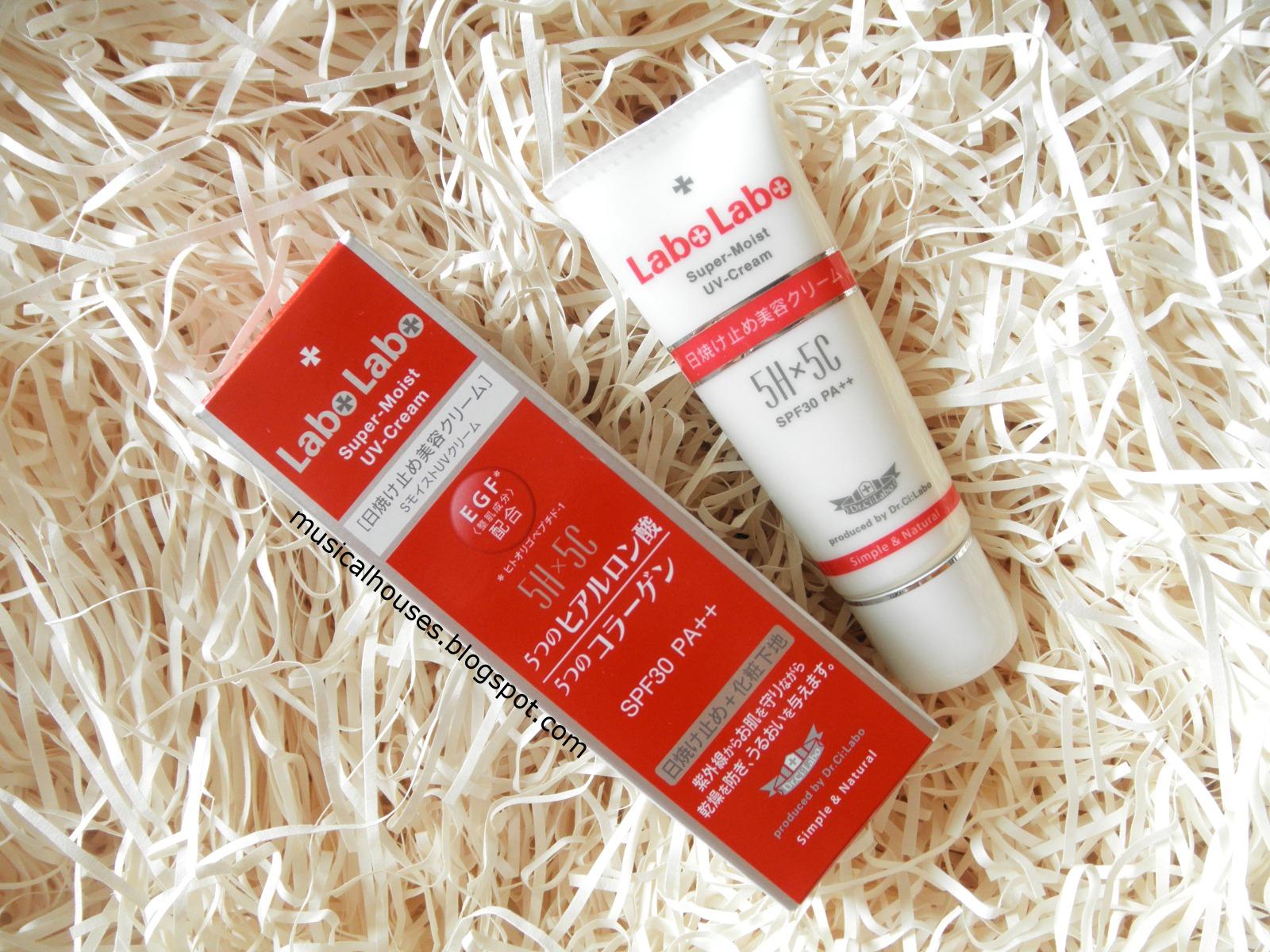 Dr Ci Labo Labo Labo Super Moist 5H5C UV Cream Sunscreen