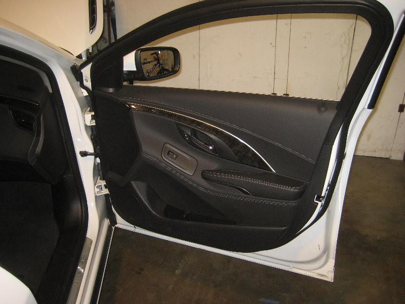 2010 2016 Buick Lacrosse Plastic Interior Door Panel Take Off To