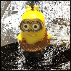 I have a #minion now. He's very small so he can't do much. Does that mean I am now an evil overlord?