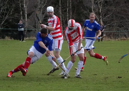 Lochaber Camanachd Club 2:6 Kyles Athletic (Shinty Premiership)