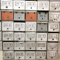 Return to sender #mail #mailbox #throwback #retro #oldschool #malaysia #grid #pigeonhole