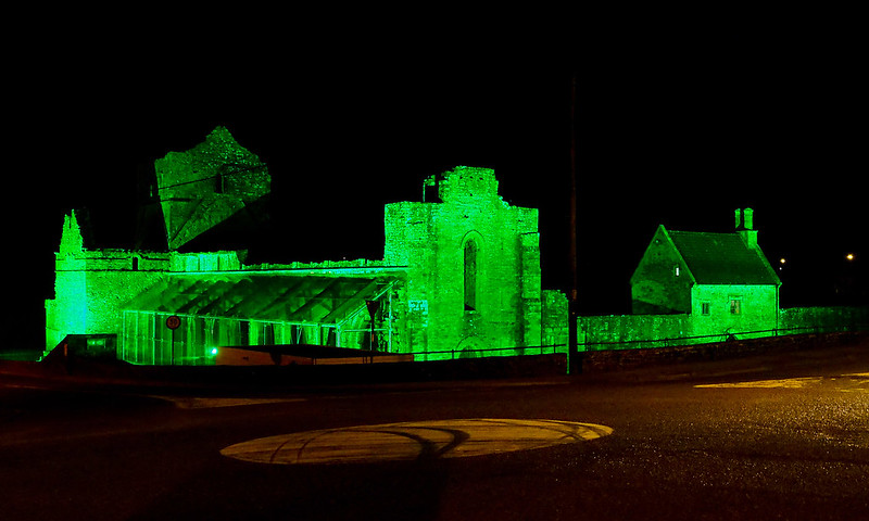 Boyle Abbey - St. Patrick's Day 2016