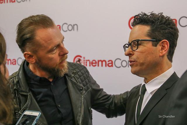 Simon Pegg y JJ Abrams