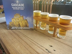 What happens at the Cascade Brewery stays at the Cascade Brewery. Or ends up on a blog post