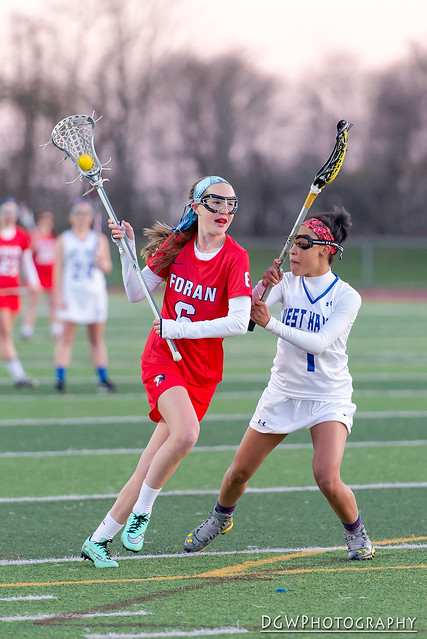 Foran High vs. West Haven - High School Girls Lacrosse