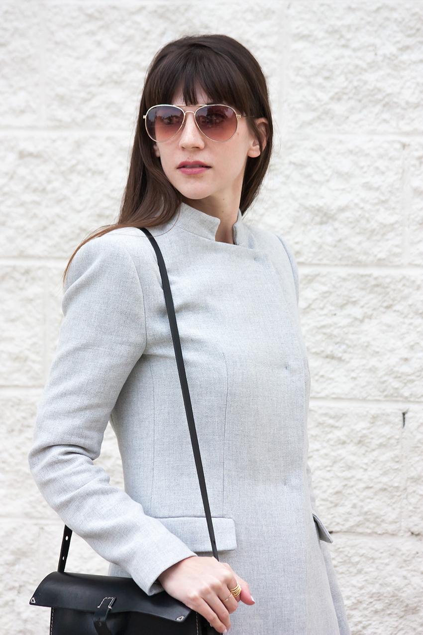 Spring Coat, Minimalist Style