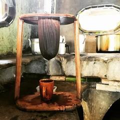 How to make coffee in Costa Rica. #vscocam #costarica #coffee #latergram