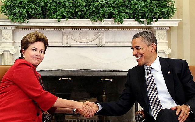 Dilma Rousseff e Barack Obama - Créditos: Roberto Stuckert Filho/Presidência da República