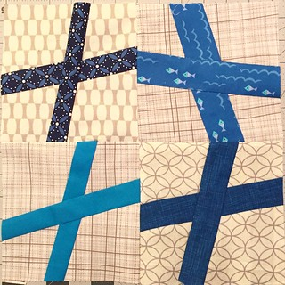 These #wonkycross blocks were so fun and fast!  For @vardewoman #harmonydogoodstitches #dogoodstitches