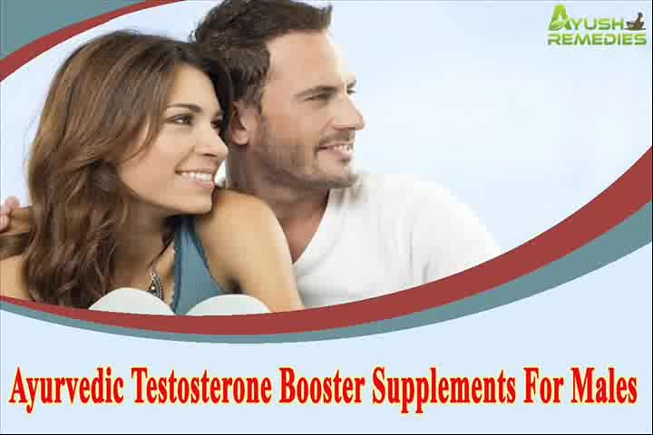Ayurvedic Testosterone Booster Supplements Pills For Males